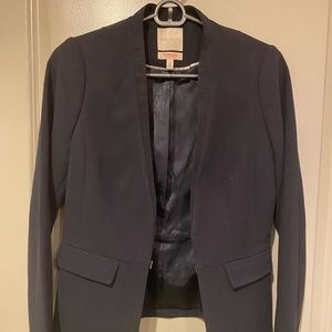 Exclusive The Limited Navy Blazer Size Extra Small